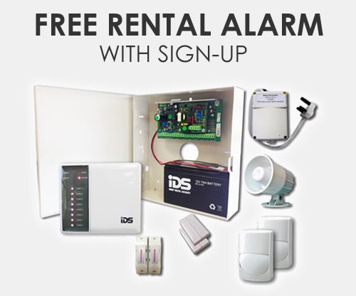 Free alarm system